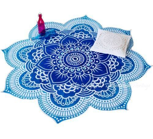 Lotus Buddhist Beach/Park Towel - Hilltop Apparel - 1