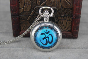 OM Vintage Pocket Watch Pendant - Hilltop Apparel - 9