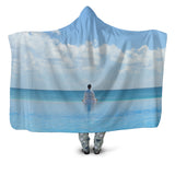 Peaceful Meditation Hooded Blanket