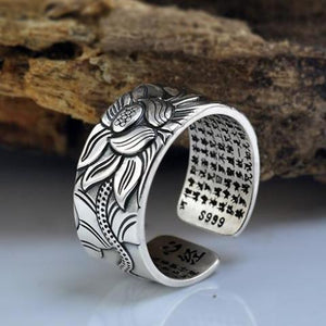 Ring - Lotus Sterling Silver Ring