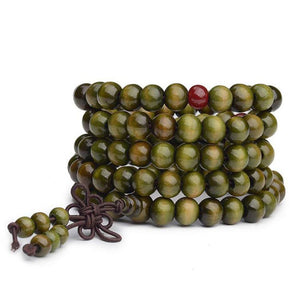 Sandalwood Mala Bracelet/Necklace. - Hilltop Apparel - 1