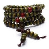 Sandalwood Mala Bracelet/Necklace. - Hilltop Apparel - 2