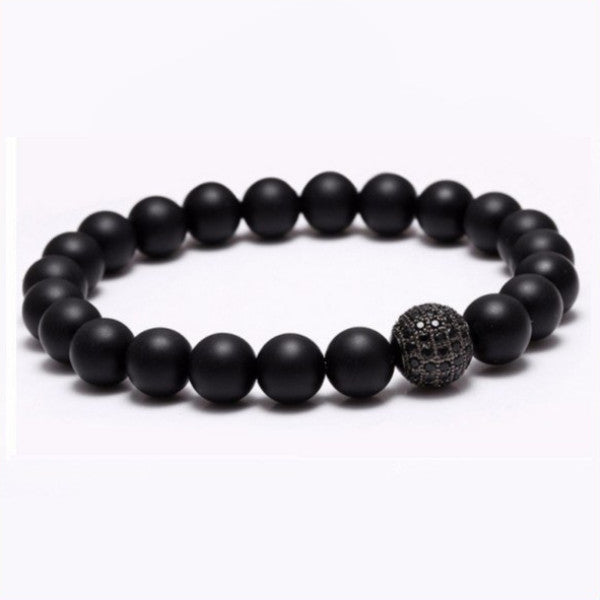Nature Stone Beads Bracelets. 5 Options. - Hilltop Apparel - 2