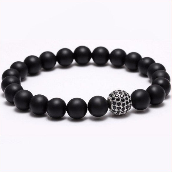 Nature Stone Beads Bracelets. 5 Options. - Hilltop Apparel - 3