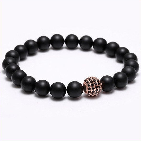 Nature Stone Beads Bracelets. 5 Options. - Hilltop Apparel - 4