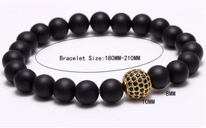 Nature Stone Beads Bracelets. 5 Options. - Hilltop Apparel - 7