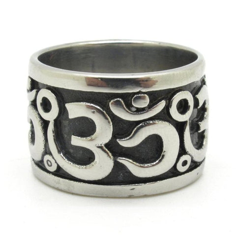 Stainless Steel OM Ring - Hilltop Apparel - 1