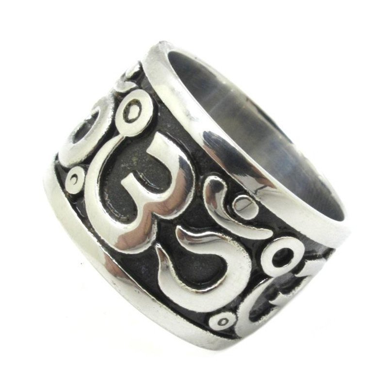 Stainless Steel OM Ring - Hilltop Apparel - 2
