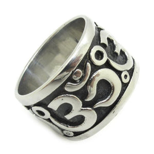 Stainless Steel OM Ring - Hilltop Apparel - 3