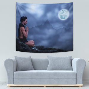 Moonlight Meditation Tapestry