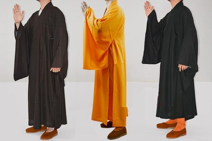 Unisex Buddhist Monk Robes - Hilltop Apparel - 1