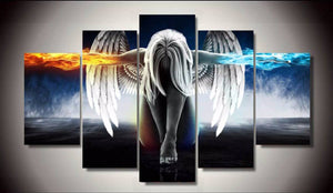 Angel Power Canvas - Hilltop Apparel - 1