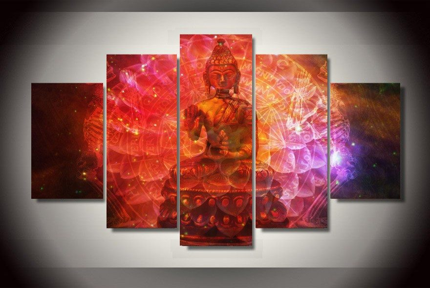 Limited Edition Buddha Canvas - Hilltop Apparel - 1