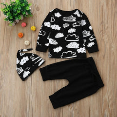 Cloudy Outfit Set - Your Baby's Closet