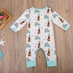 Foxy Wind Romper - Your Baby's Closet