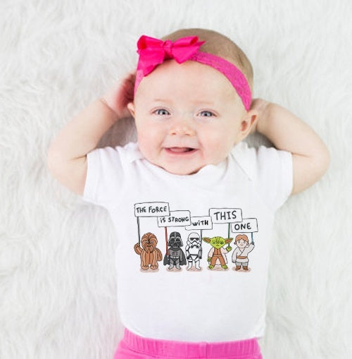 The force is strong with this one onesie - Your Baby's Closet