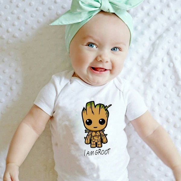 Baby Groot Bodysuit - Your Baby's Closet
