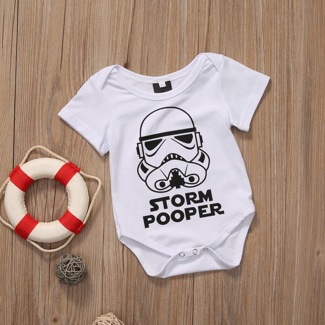 Toddler Infant Kids Newborn Baby Girls Boys Storm Pooper Romper Jumpsuit Short Sleeve Sunsuit baby pajamas jumpsuit baby girl - Your Baby's Closet