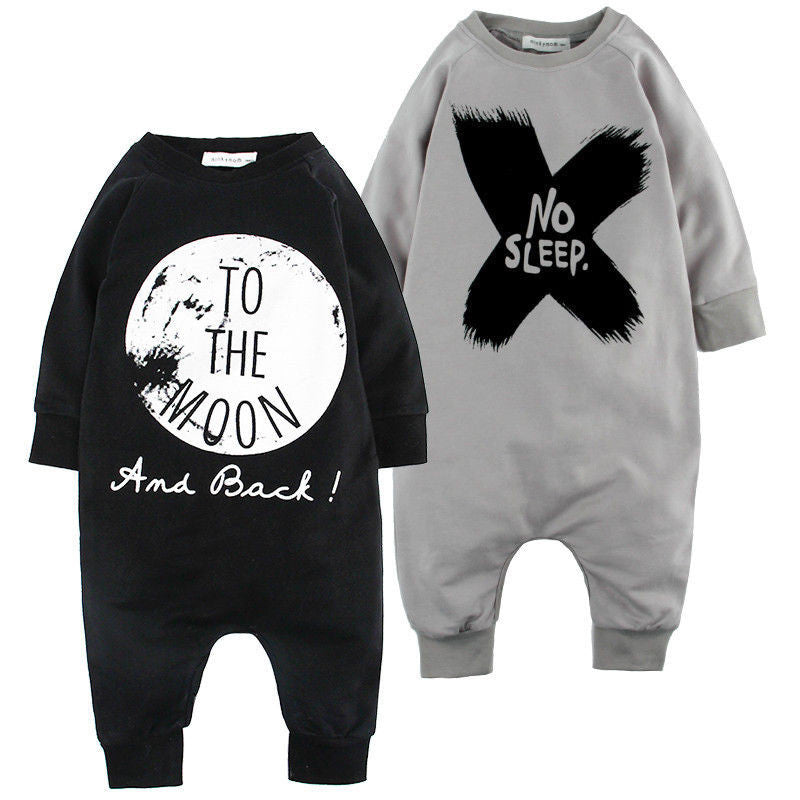 b6a990f5f8f8c Newborn Baby Clothes Babyworks One Pieces Baby Romper Infant Boys Girls  Long Sleeve Jumpsuits Clothing Baby Rompers