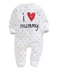Love Daddy Mummy Jumpsuit - Your Baby's Closet