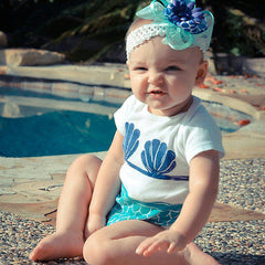 Mermaid Romper - Your Baby's Closet