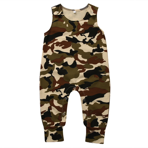 Camouflage Jumpsuit - Your Baby's Closet
