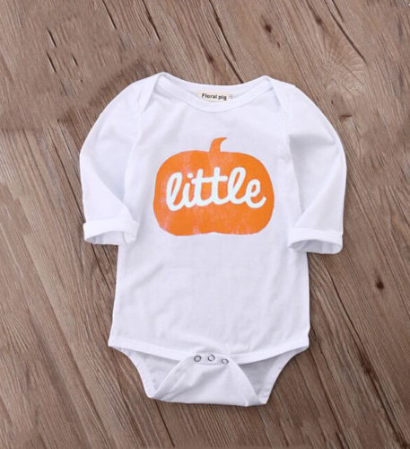 Little Pumpkin Romper - Your Baby's Closet