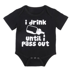 I Drink Until I Pass Out Romper - Your Baby's Closet