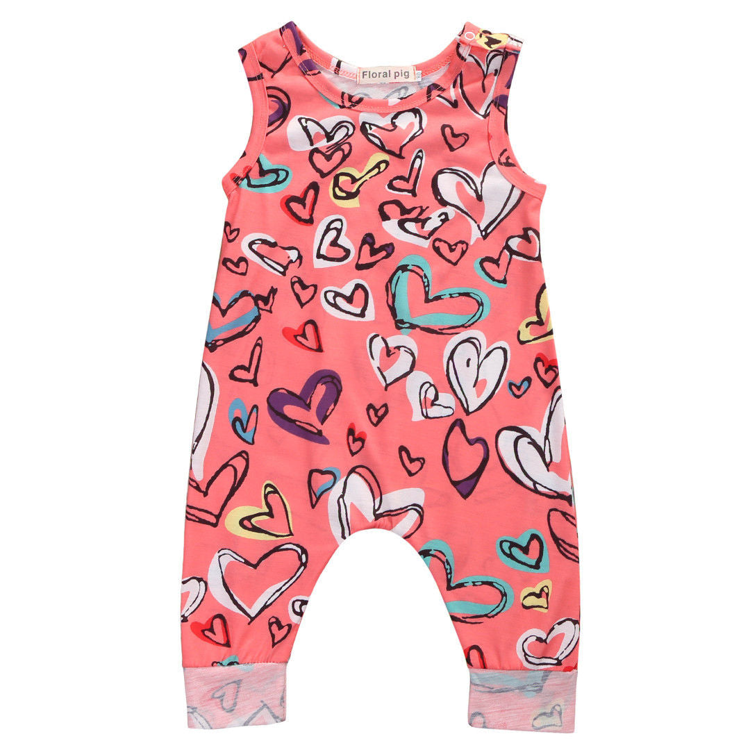 Heart Jumpsuit - Your Baby's Closet