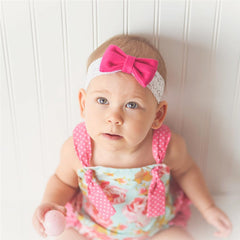 Pinky Floral Romper - Your Baby's Closet