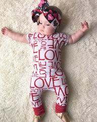 Love Jumpsuit - Your Baby's Closet