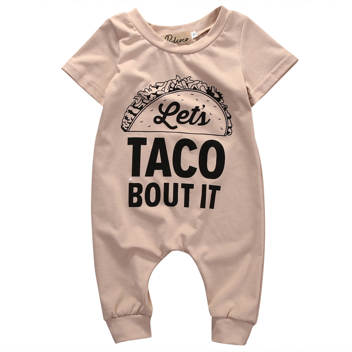 Let's Taco Bout It Jumpsuit - Your Baby's Closet