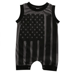 American Flag Jumpsuit - Your Baby's Closet