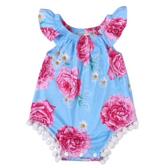Floral Summertime Romper - Your Baby's Closet