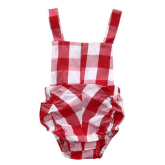 Plaid Romper - Your Baby's Closet