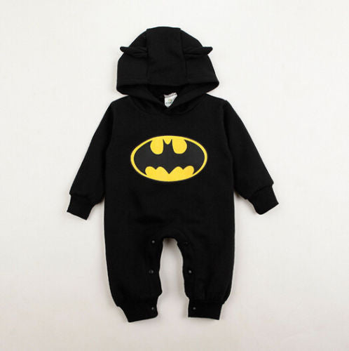Batman Hooded Jumpsuit - Your Baby's Closet