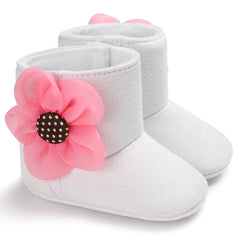 Flower Winter Boot - Your Baby's Closet