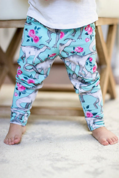 Dinosaur And Deer Pants - Your Baby's Closet