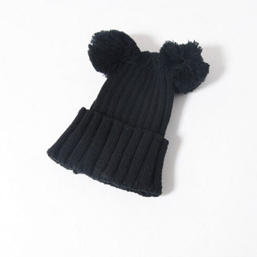 Pompom Knitted Hat - Your Baby's Closet