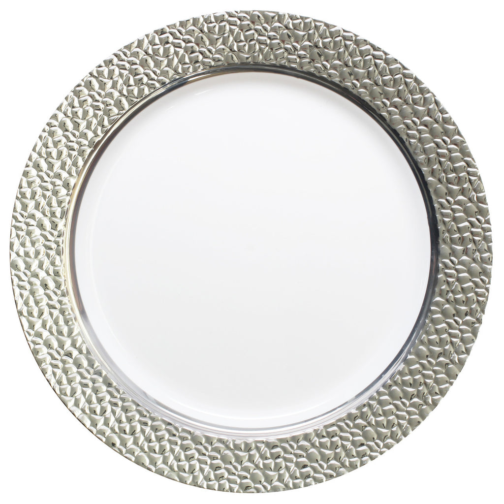 Hammered Collection Party Package with Lunch Plate - Royalty Settings