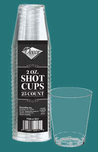2oz Shot Cups - 25 Pack - Royalty Settings