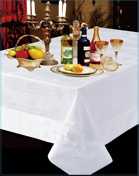 Crocodile Tablecloths - Royalty Settings