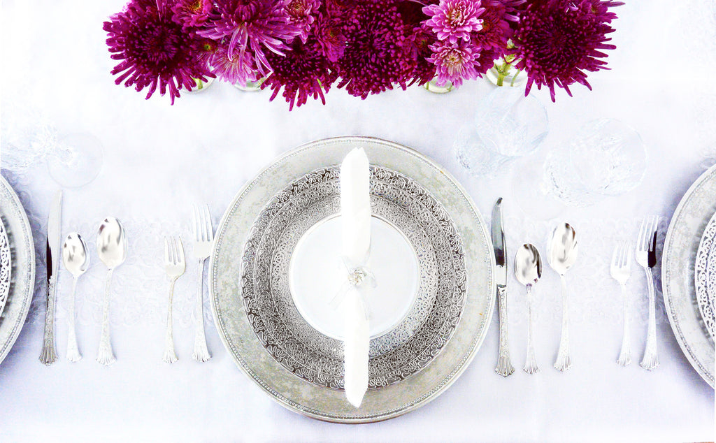 Inspiration Tableware Collection Silver - Royalty Settings