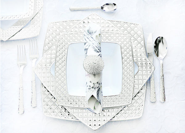 Diamond Tableware Collection - Royalty Settings