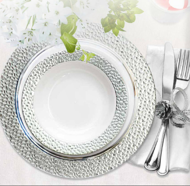 Hammered Tableware Collection - Royalty Settings