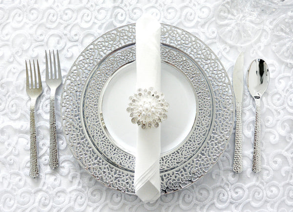Inspiration Collection Silver Party Package - Royalty Settings