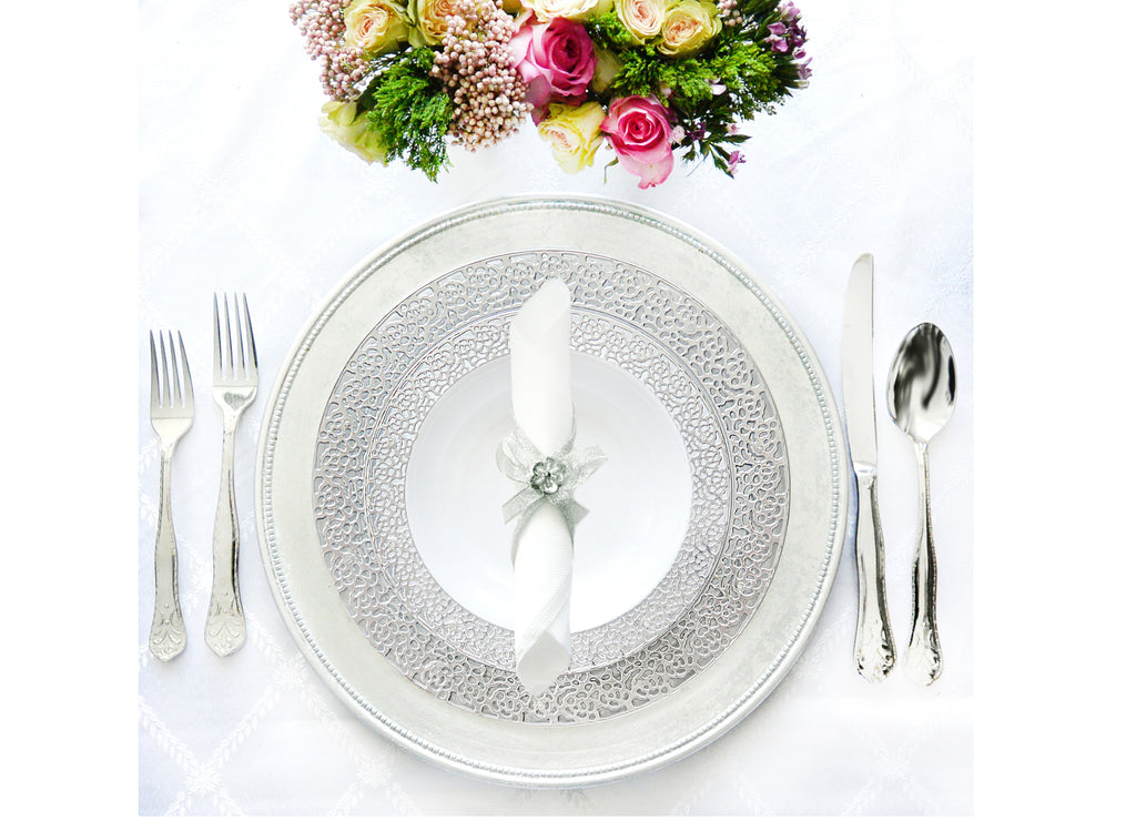 Inspiration Tableware Collection Silver
