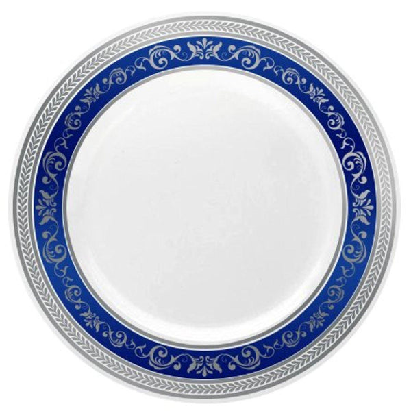 ... Royal Collection Blue and Silver - Royalty Settings  sc 1 st  Royalty Settings - Shopify & Plastic Plates - Royalty Settings