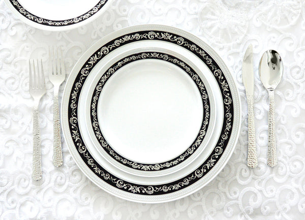 Royal Collection Black/Silver Party Package - Royalty Settings