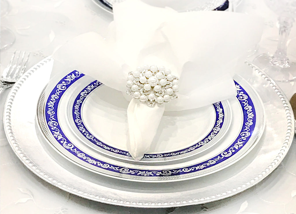Royal Collection Blue and Silver - Royalty Settings